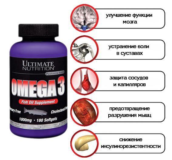 Omega-3 - незаменимые жирные кислоты