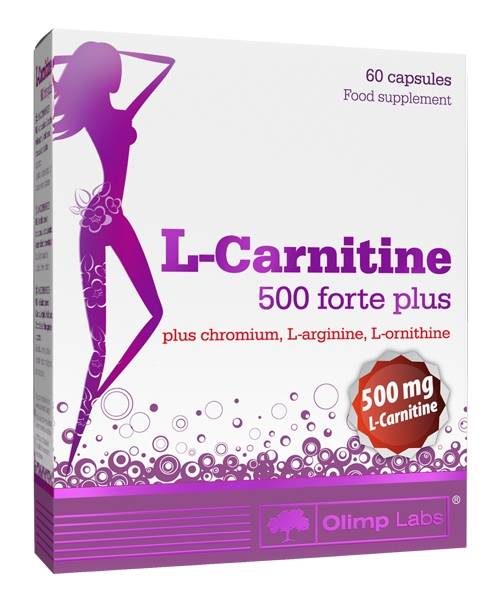 L-сarnitine 500 Forte Plus Olimp Sport Nutrition