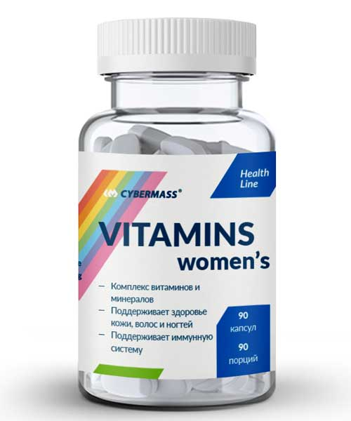 Vitamins Womens Cybermass