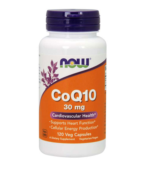 Coenzyme Q10 30 mg NOW 120 капс.