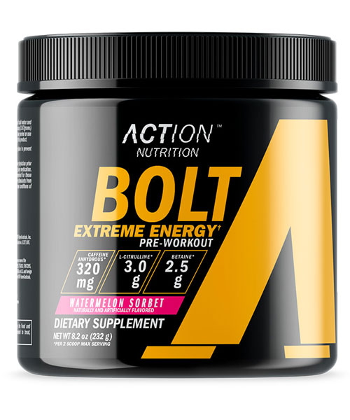 Bolt Extreme Energy Action Nutrition