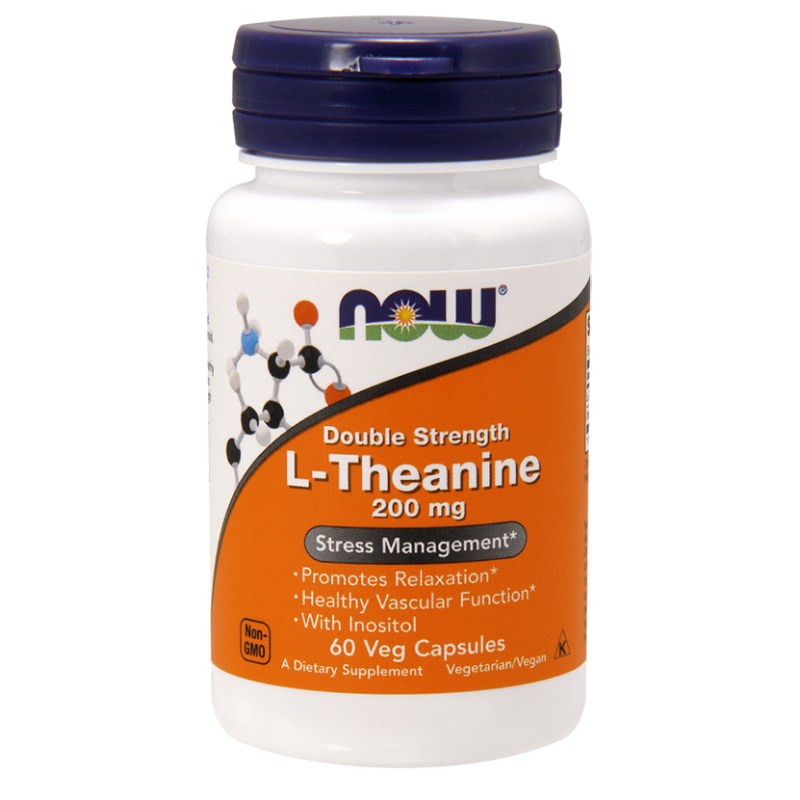 L-theanine 200 mg NOW