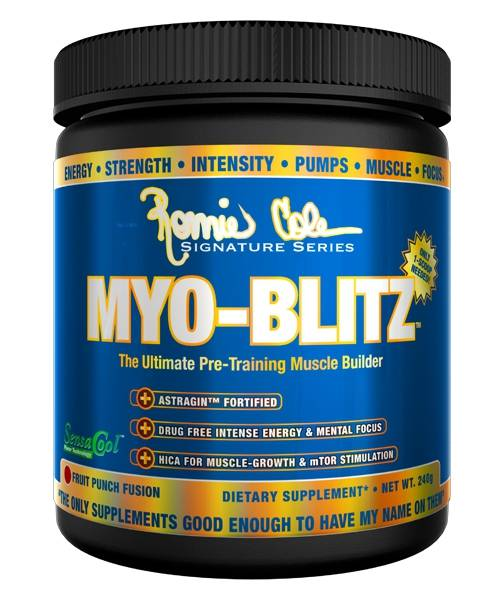 Myo-blitz Ronnie Coleman Signature Series 240 гр.
