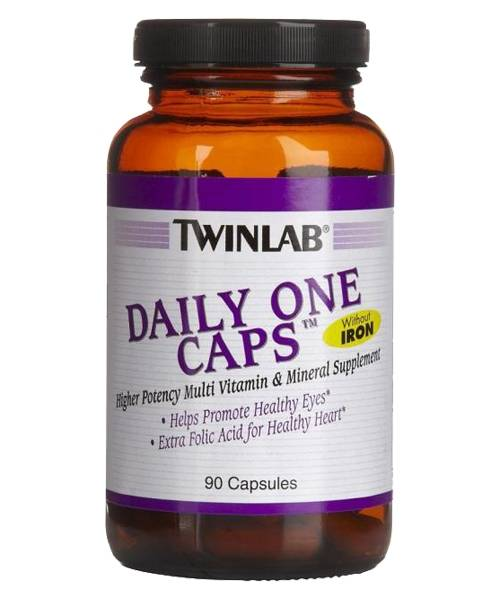 Daily One Caps Without Iron Twinlab 90 капс.