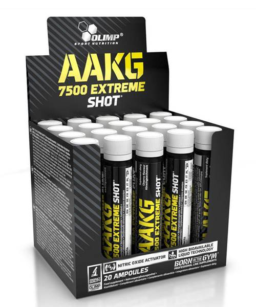 Aakg 7500 Extreme Shot Olimp Sport Nutrition 20 амп., 25 мл.