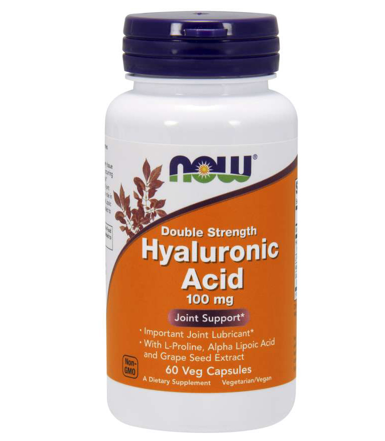 Hyaluronic Acid 100 mg 2x Plus NOW