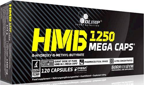 HMB Mega Caps Olimp Sport Nutrition 120 капс.