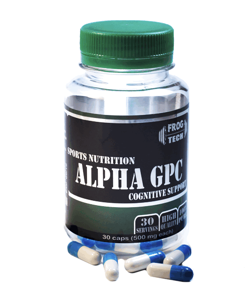 Alpha GPC 500 mg Frog Tech 30 капс.