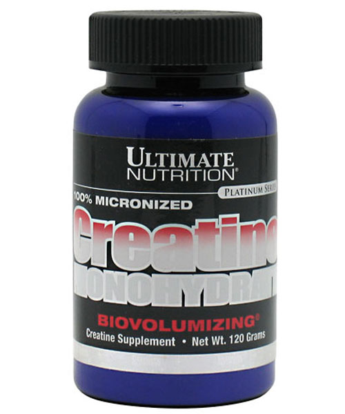 100% Micronized Creatine Monohydrate Ultimate Nutrition 120 г