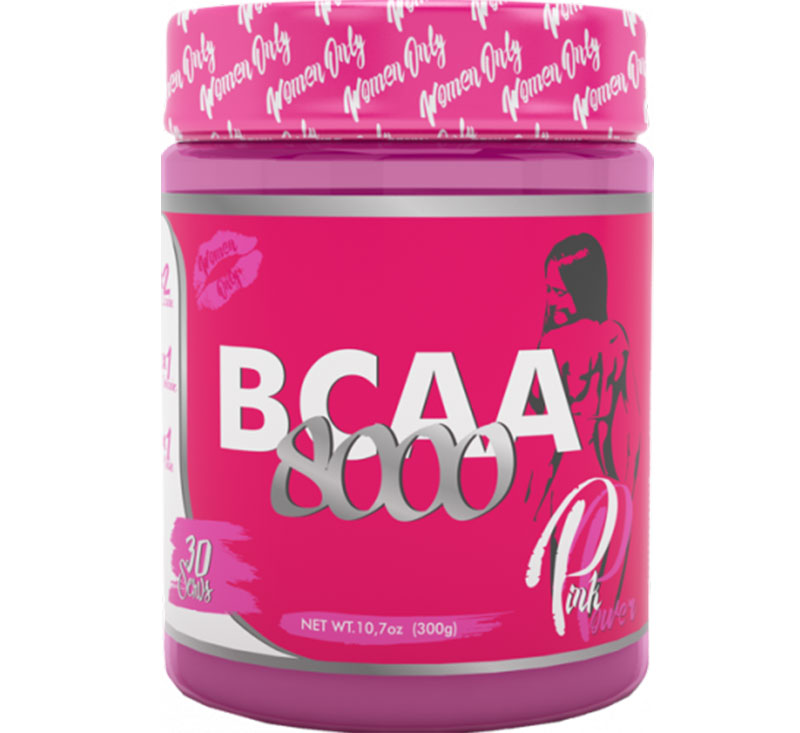 Pink Power Bcaa 8000 Steel Power