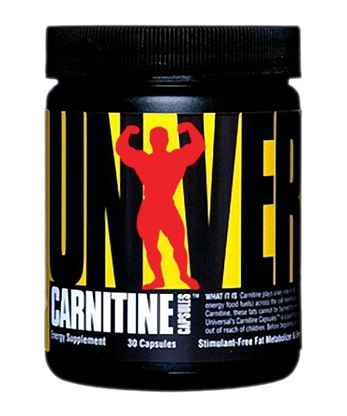 Carnitine Capsules Universal Nutrition