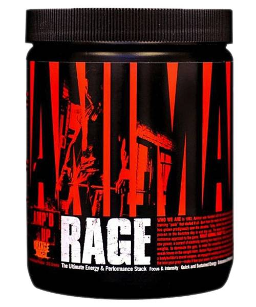 Animal Rage Universal Nutrition 333 гр.