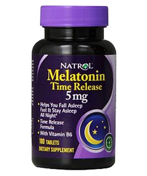Melatonin Time Release 5 mg Natrol
