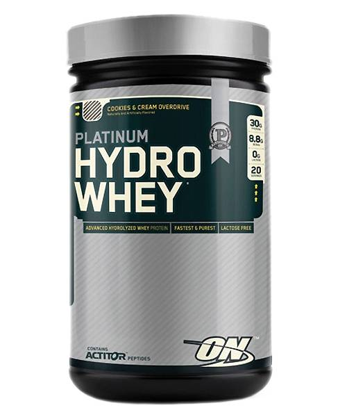 Platinum Hydrowhey Optimum Nutrition 795 г