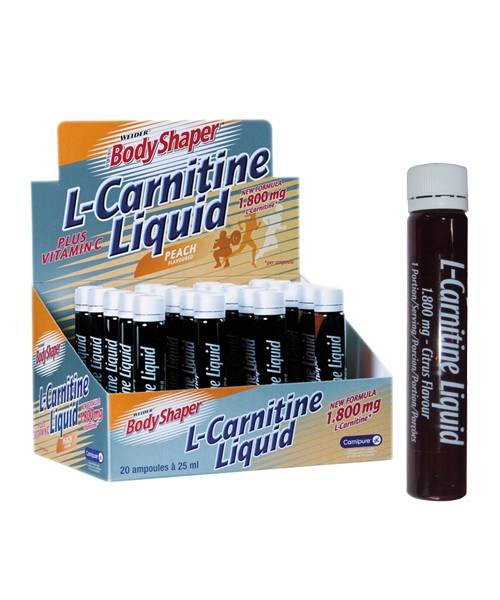L-carnitine Liquid 1800 Weider