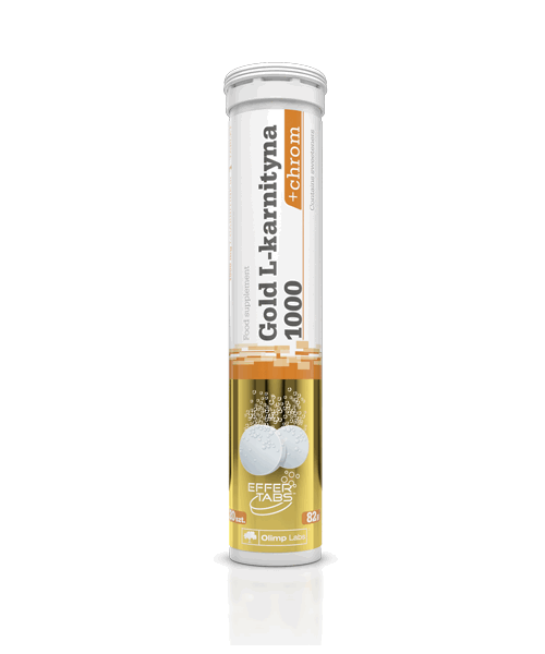 Gold L-carnitine 1000+chrom Olimp Sport Nutrition