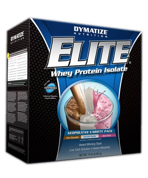 Elite Whey Protein Isolate Dymatize Nutrition 4 536 гр.