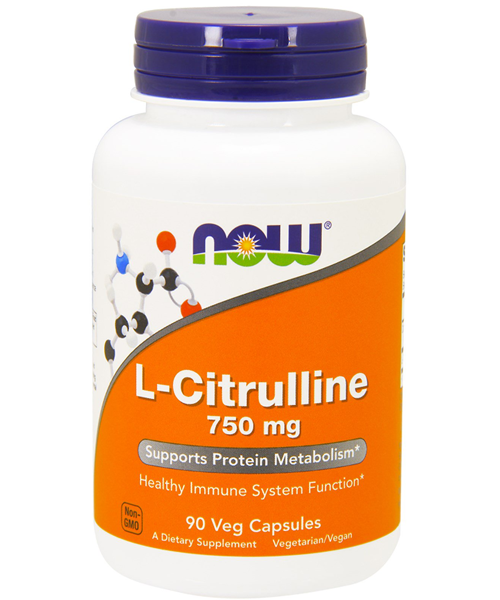 L-citrulline 750 mg NOW