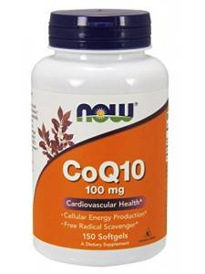 Coenzyme Q10 100 mg NOW 50 капс.