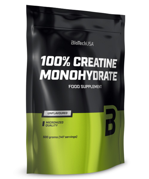 100% Creatine Monohydrate Biotech Nutrition 500 г