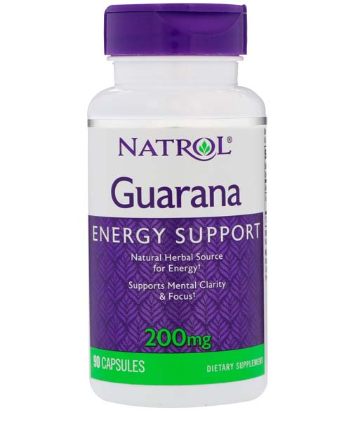 Guarana 200 mg Natrol