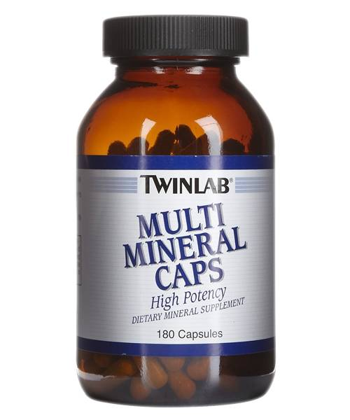 Multi Mineral Caps Twinlab 180 капс.