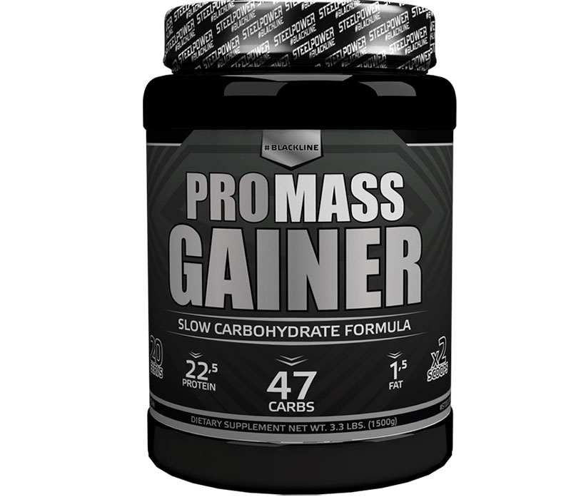 Black Line Pro Mass Gainer Steel Power