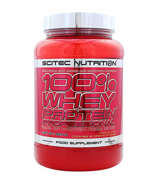 100% Whey Protein Professional Scitec Nutrition 920 гр.