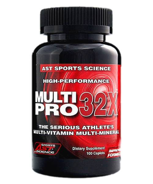 MultiPro 32X AST Sports Science 100 капсул
