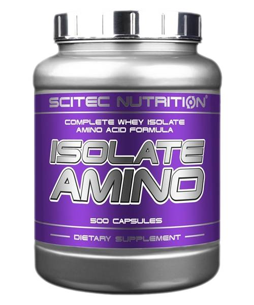 Isolate Amino Scitec Nutrition 500 капс.