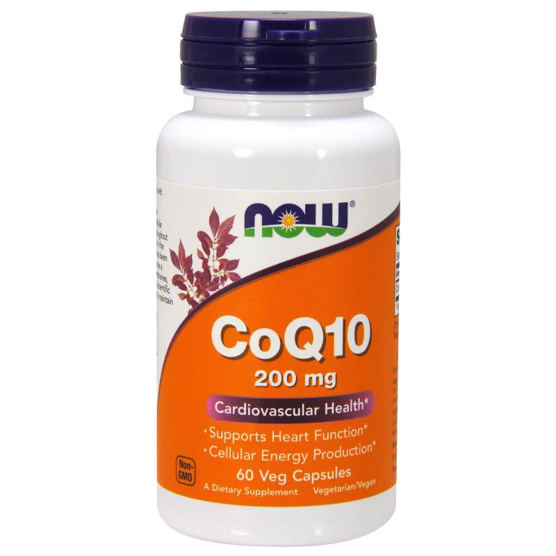 Coenzyme Q10 200 mg NOW