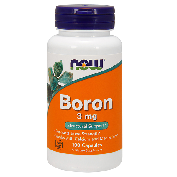 Boron 3 mg NOW