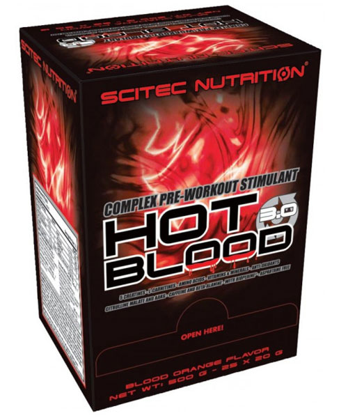 Hot Blood 3.0 Scitec Nutrition 500 г