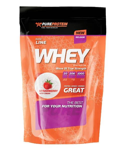 Whey Protein Pure Protein 1 000 гр.