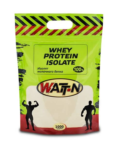 100% Whey Protein Isolate Watt Nutrition 1000 гр.