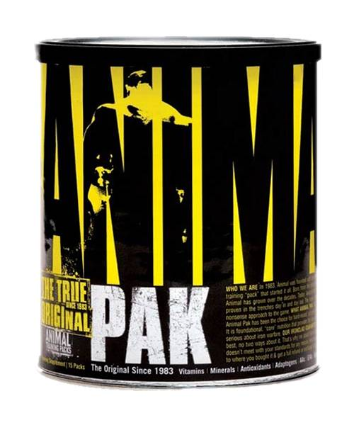 Animal Pak Universal Nutrition 15 пак.