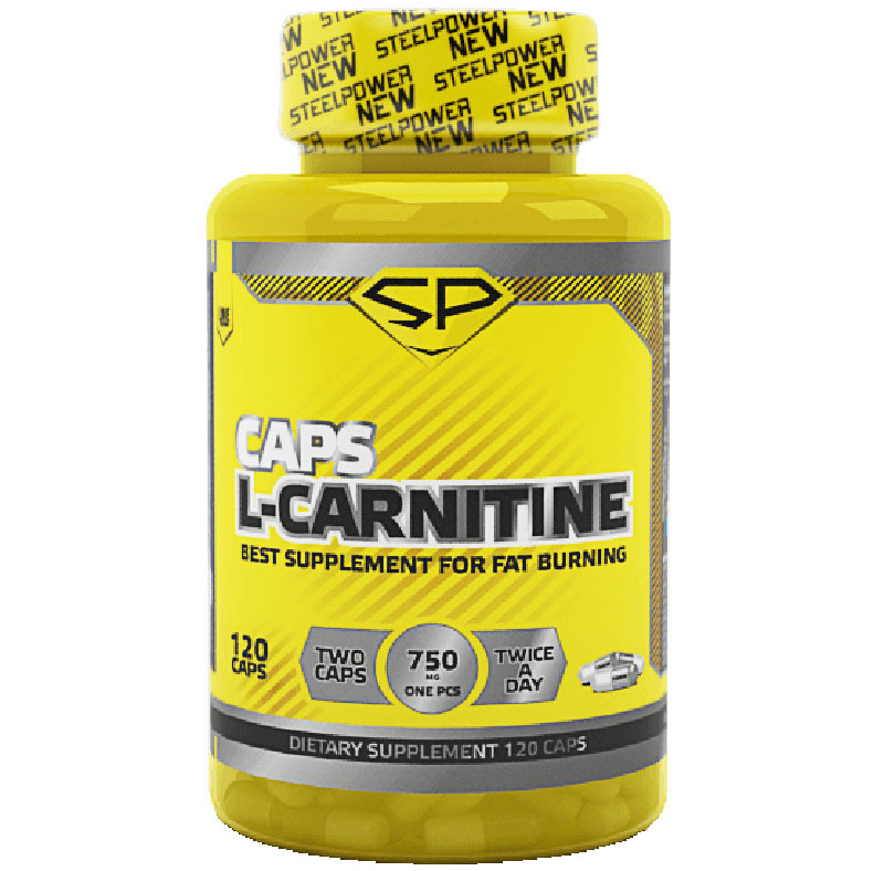 L-carnitine Caps Steel Power