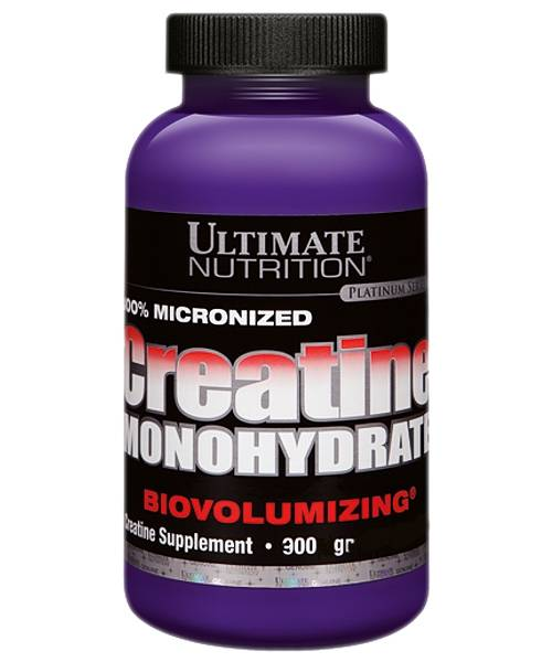 100% Micronized Creatine Monohydrate Ultimate Nutrition 300 г