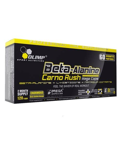 Beta - Alanine Carno Rush Olimp Sport Nutrition 120 капс.