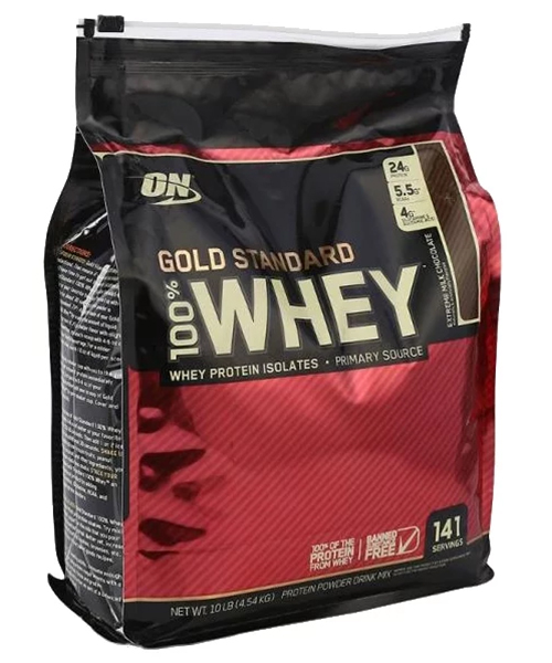 100% Whey Gold Standard Optimum Nutrition 4540 г