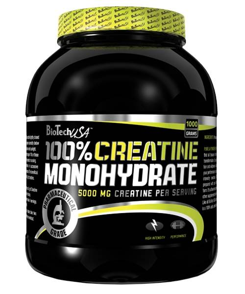 100% Creatine Monohydrate Biotech Nutrition 1000 г