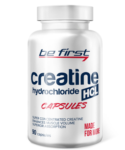 Creatine HCL Caps BE First