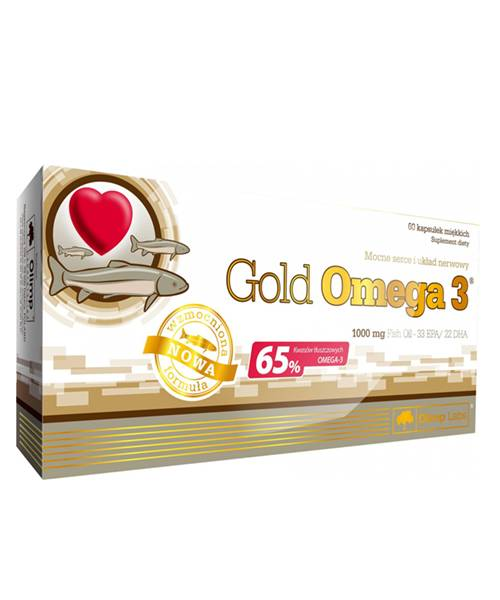 Gold Omega-3 65% Olimp Sport Nutrition 60 капс.