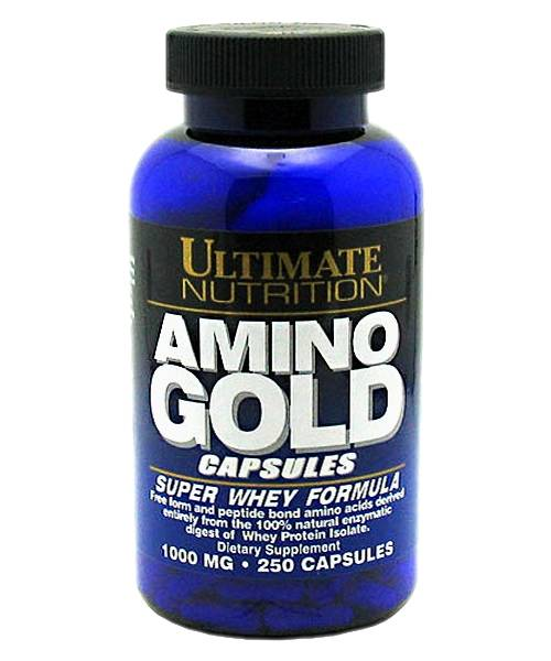 Amino Gold Capsules Ultimate Nutrition