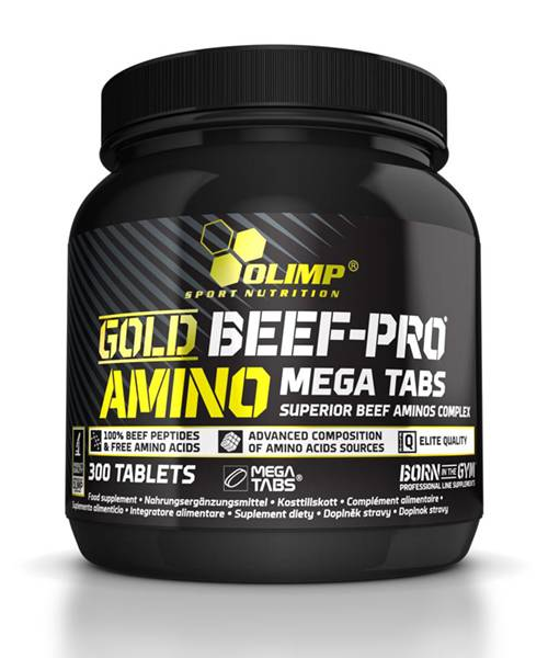 Gold Beef Pro Amino Mega Olimp Sport Nutrition 300 таб.