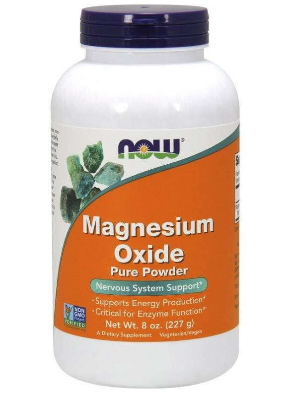 Magnesium Oxide PWD NOW 227 г