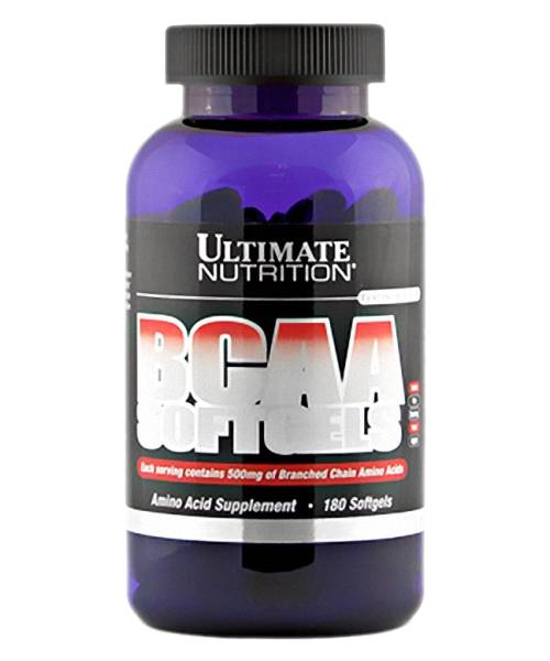 Bcaa Softgels Ultimate Nutrition 180 капс.