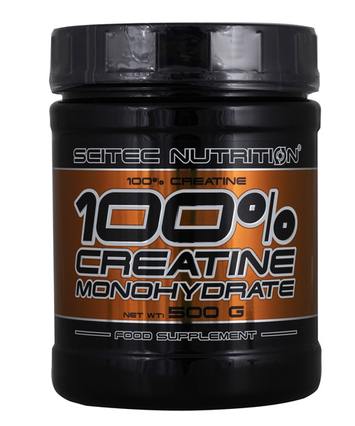 Creatine 100% Pure Scitec Nutrition 500 г