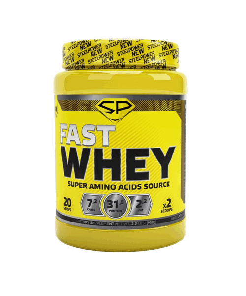 Fast Whey Steel Power 900 гр.