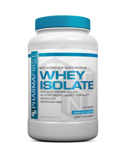 Whey Isolate Pharmafirst Nutraceuticals 910 гр.